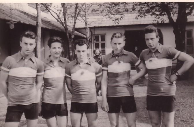 Mannschaftsfoto 5 Personen