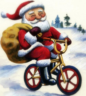 christmas_santa_on_a_bike_drawing